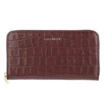 Portemonnaie Metallic Croco Shiny Soft Wallet