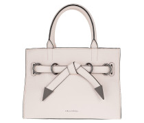 K/Rocky Bow Small Shopper Light Rose Tote