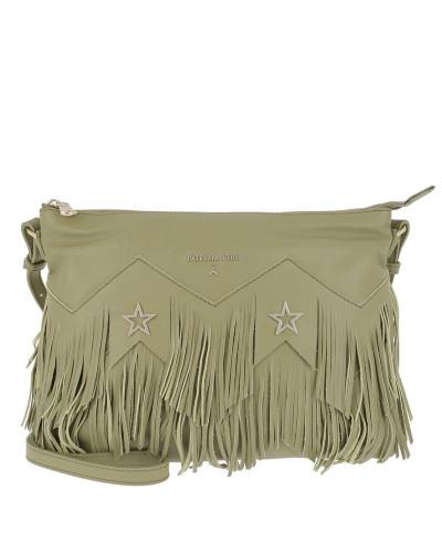 Rabatt Niedrig Kosten Patrizia Pepe Damen Fringed Shoulder Bag Daily Green Tasche Qualität Für Freies Verschiffen Verkauf Online Bestellen gW72k6