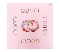 Tücher & Schals Floral Print Shawl Silk