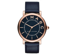 Ladies Marc Jacobs Classic Watch Navy/Rosegold Armbanduhr gold
