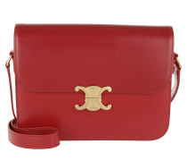 Umhängetasche Triomphe Bag Large Leather Red