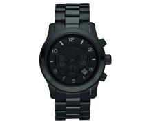 Armbanduhr - Blackout Runway Chronograph Watch
