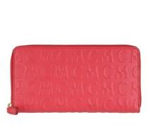 Portemonnaie MCM Monogramme Leather Zip Wallet Large