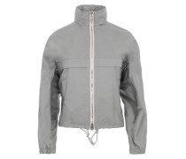 K-Way Nylon Piuma Jacket Argento + Rosa Mantel rosa