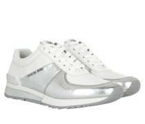 Allie Wrap Trainer Sneakers Silver/Optic White Sneakers weiß