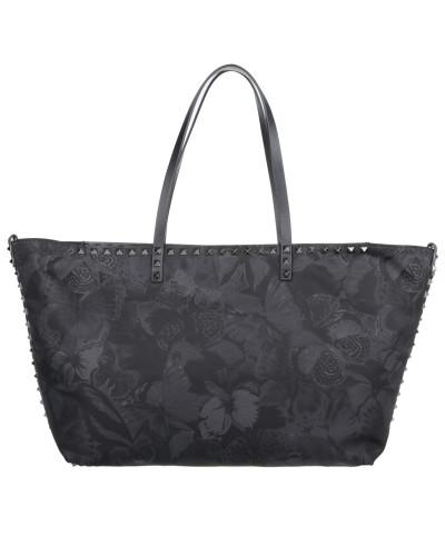 valentino damen valentino tasche studded shopping bag. Black Bedroom Furniture Sets. Home Design Ideas