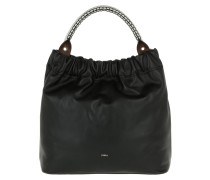 Matilde Top Handle Large Onyx Tote