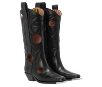 Boots Meteor Shower Black White
