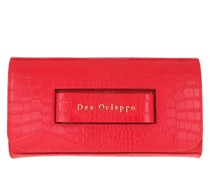 Clutch Dee Hand Red