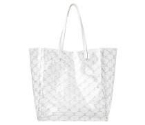 Shopper Monogram M White