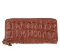 Portemonnaie Gigi Croco Wallet New Bourbon