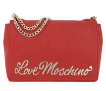 Letter Shoulder Bag Rosso Umhängetasche