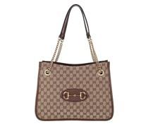 Shopper Medium Horsebit Shopping Bag Leather
