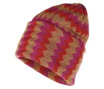 Caps Chevron Knit Hat Multicolor