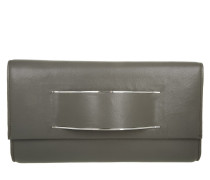 Runway Clutch Grey