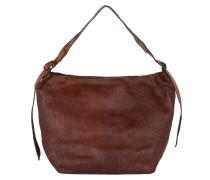 Monospalla Vachette Capo Cognac Hobo Bag braun
