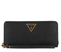 Portemonnaie Destiny Large Zip Around Wallet Black