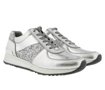 Allie Wrap Trainer Silver Sneakers