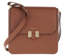 Umhängetasche Tilda Tablet Mini Bag Cognac/Plumbeo Grey/Gold