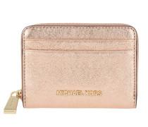 Money Pieces ZA Card Case Soft Pink Portemonnaie gold