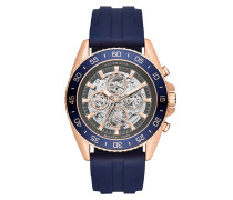 Armbanduhr - Jet Master Rose-Tone and Silicone Watch