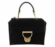 Shopper Handbag Suede Leather