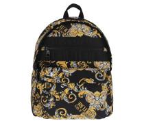 Rucksack Men Macrologo Backpack Black/Gold