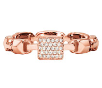 Ring MKC1027AN791 Stacking Mercer Link Roségold