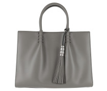 Mini Double T-Bag Grey Tote