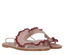 Sandalen Sandal Nude/Bordeaux