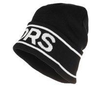 Caps Men Vertical Logo Cuff Hat Black