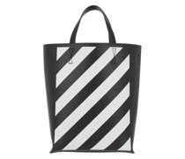 Tote Diag Bag Black White