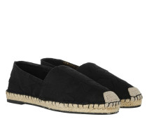 Star Espadrilles Canvas Black