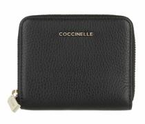 Portemonnaie Metallic Soft Wallet Grainy Leather