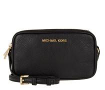 Tasche - Bedford MD Double Zip Crossbody Bag Leather Black - in schwarz