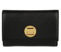 Liya Wallet Flap Noir Portemonnaie