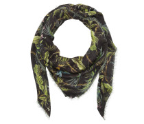 Tropican Scarf Black/Green Schal grün