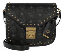 Patricia Studded Outline Shoulder Bag Black Umhängetasche