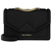 Klassik Shoulderbag Black Umhängetasche