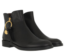 Boots Bootie Leather Black