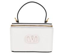 Umhängetasche VSling Pochette Leather Optic White
