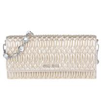 Tasche - Metalassé Crossbody Leather Pirite