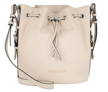 Eco Synthetic Bucket Bag Light Beige