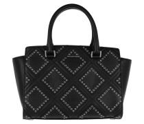 Selma MD TZ Satchel Bag Black Tote
