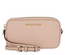 Tasche - Bedford MD Double Zip Crossbody Bag Leather Oyster