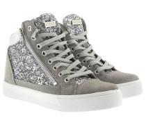 Sneakers - Guya Metallic Sneaker Silver