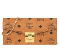 Umhängetasche Patricia Visetos Wallet On Chain Large Cognac
