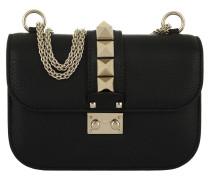Rockstud Small Shoulder Bag Black Umhängetasche