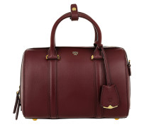 Signature Smooth Boston Small Rustic Brown Bowling Bags